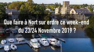 Que faire à Nort sur erdre ce week-end du 23/24 Novembre 2019 ? 1 nort sur erdre sortie