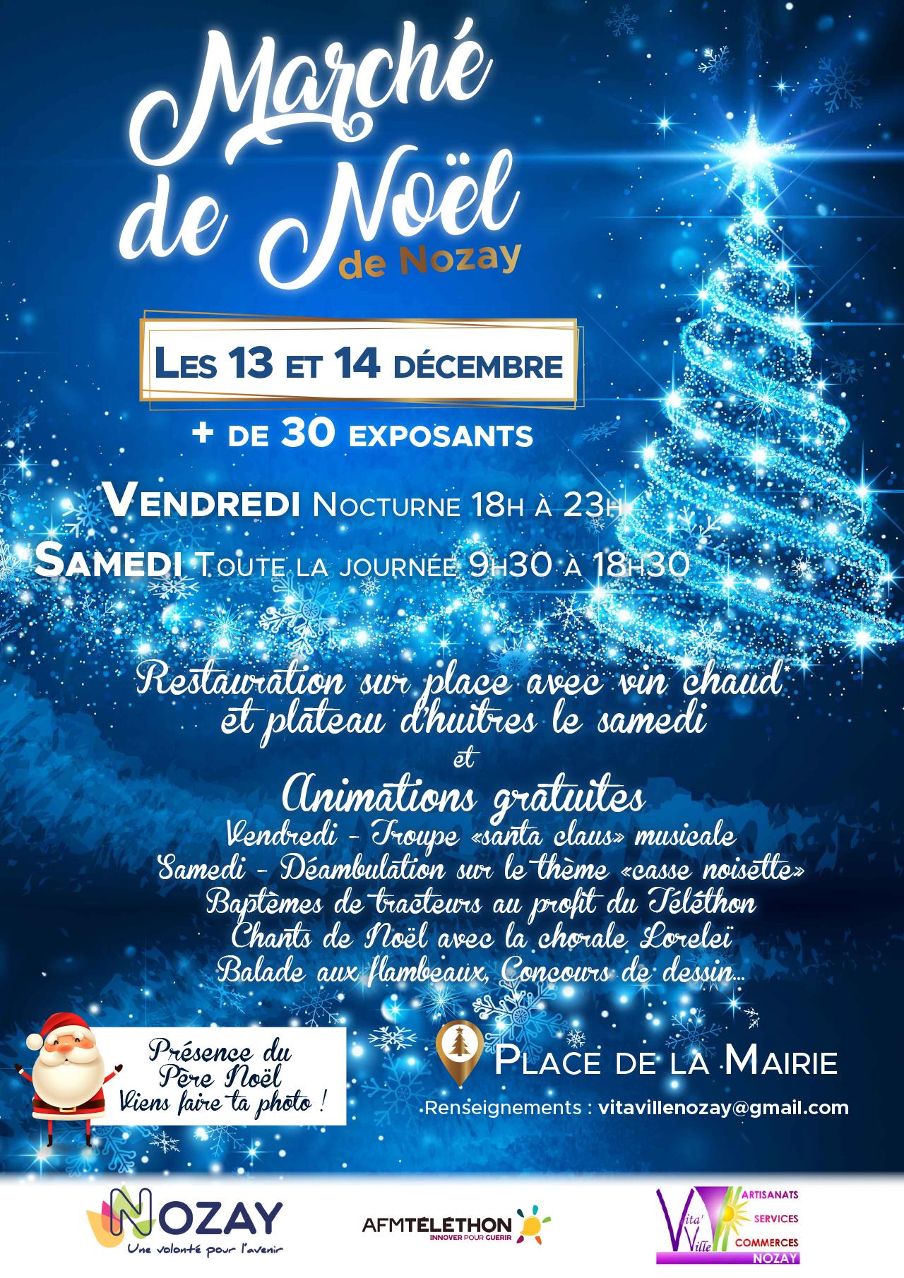 Marché de Noël Nozay 9 BRICOMARCHE NOZAY A4 DEC20191