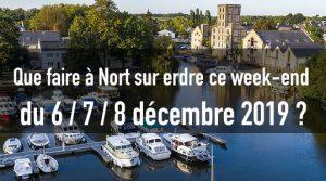 Que faire à Nort sur erdre ce week-end du 6/7/8 décembre 2019 ? 1 nort sortir decembre 2019