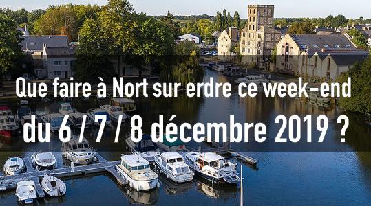 Que faire à Nort sur erdre ce week-end du 6/7/8 décembre 2019 ? 7 nort sortir decembre 2019