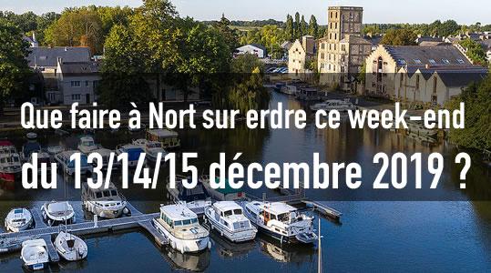 L'agenda de Nort sur erdre ce week-end du 13/14/15 décembre 2019 ! 6 sorties nort
