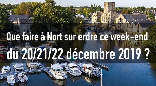 L'agenda de Nort sur erdre ce week-end du 20/21/22 décembre 2019 ! 5 sortir nort sur erdre