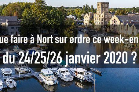 Sortir à Nort sur erdre ce week-end du 24/25/26 janvier 2020 🦇 11 WE nort sur erdre
