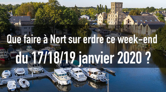 Sortir à Nort sur erdre ce week-end du 17/18/19 janvier 2020 🦇 3 agenda nort sur erdre