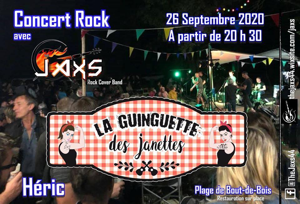 Rock again à la Guinguette des Janettes 9 Concert Jaxs la Guinguette des Janettes