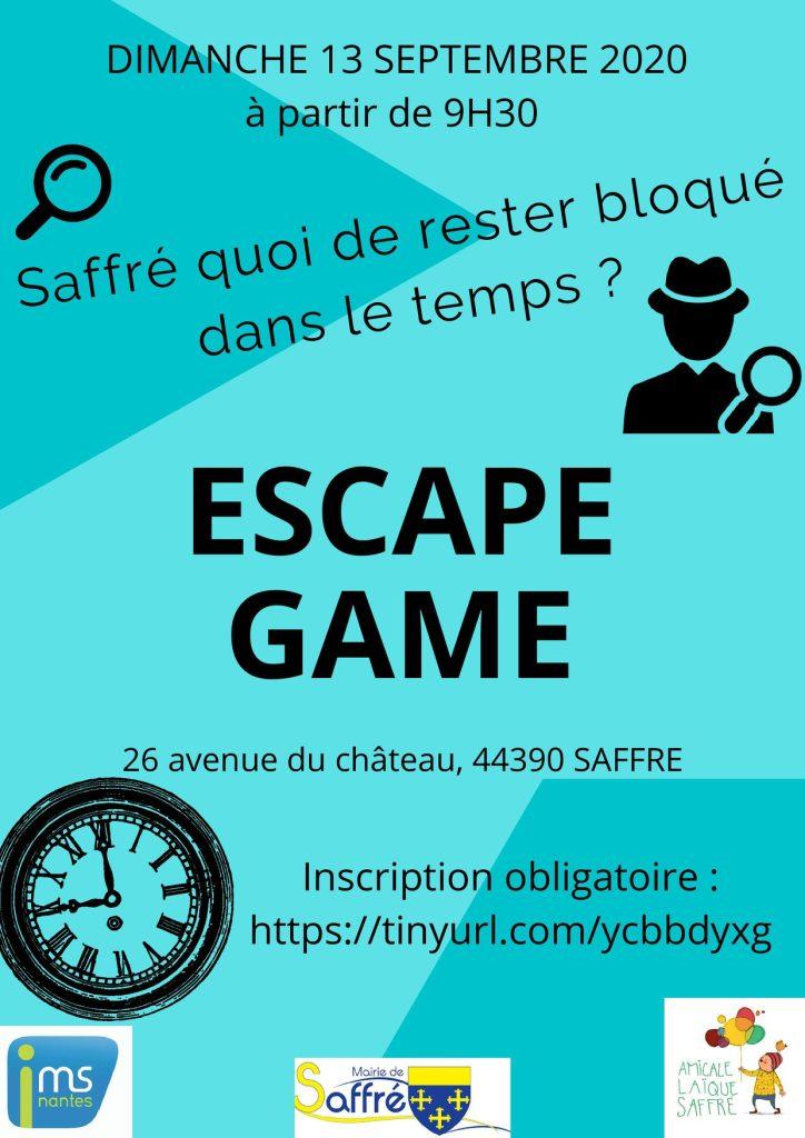 Escape Game 9 escape game saffre nort sur erdre