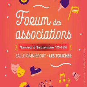 """Forum des associations """"Les Touches"""" 27 forum asso les touches"""