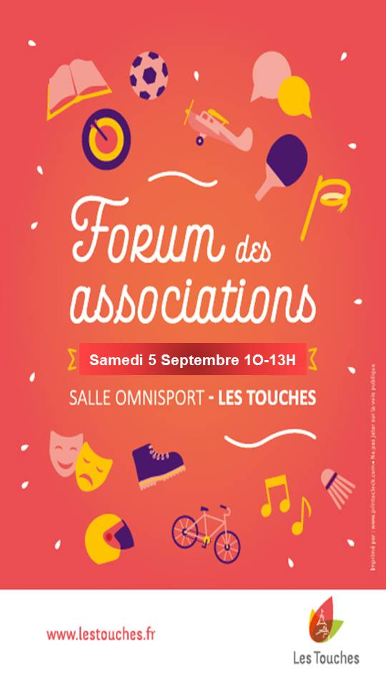 """Forum des associations """"Les Touches"""" 9 forum asso les touches"""