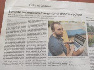 Perdspaslenort dans Ouest France 1 perdspaslenort