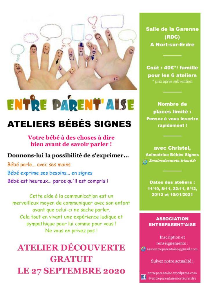 Ateliers Bébé signe - Découverte 9 atelier bebe sige nort sur erdre