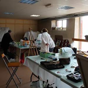 Atelier libre : Peinture, dessin, pastel 136 atelier libre peinture
