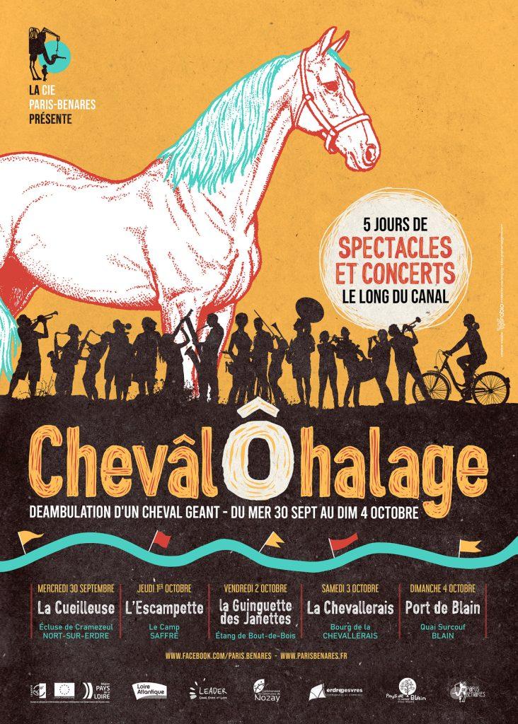 ChevâlÔhalage - Déambulation de Chevâl ! #jour4 9 chevâl nort sur erdre