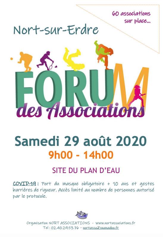 Forum des associations Nort sur erdre 2020 9 forum des asso nort 2020