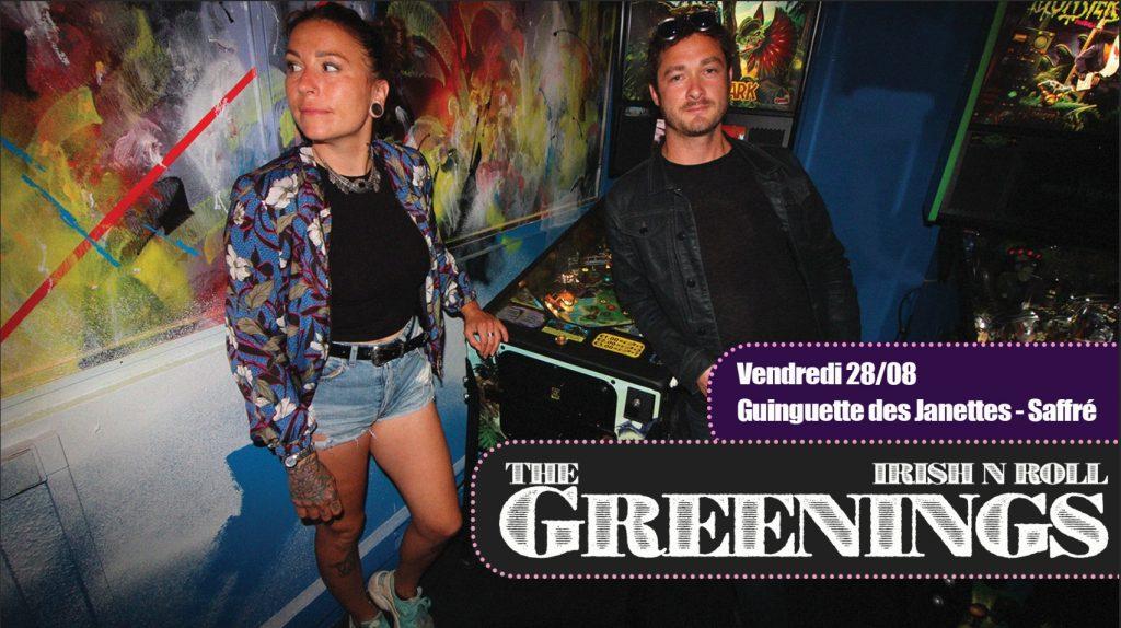 The Greenings ♡ Irish'n'Roll ♡ 9 greetings nort sur erdre