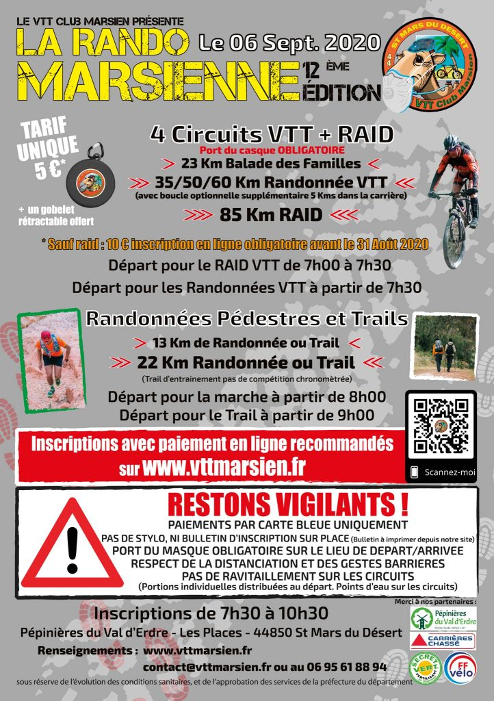 Rando VTT et Raid Marsien 9 rando vtt nort sur erdre