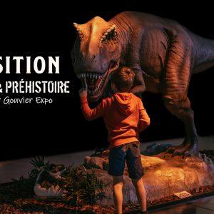 Dinosaures, Fossiles et Préhistoire à NORT SUR ERDRE présentés par GOUVIER EXPO 34 ecposition dinosaure nor sur erdre